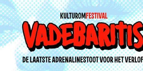 Vadebaritis festival billets