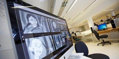 MSc Animation & VFX Open Studios Visit Days