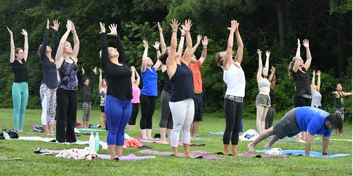 Get Fit at Dix - Yoga in the Park