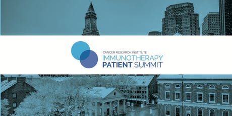 CRI Immunotherapy Patient Summit - Boston tickets