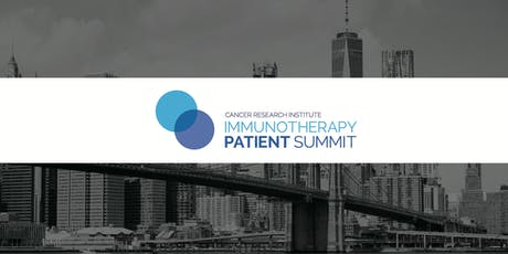 CRI Immunotherapy Patient Summit - New York City tickets
