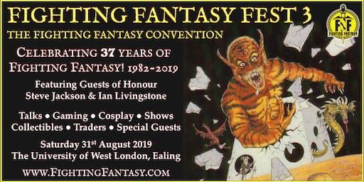 Fighting Fantasy Fest 3