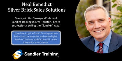 Sandler Sales Training - Improve your sales with a system!