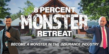 8% Monster Retreat tickets