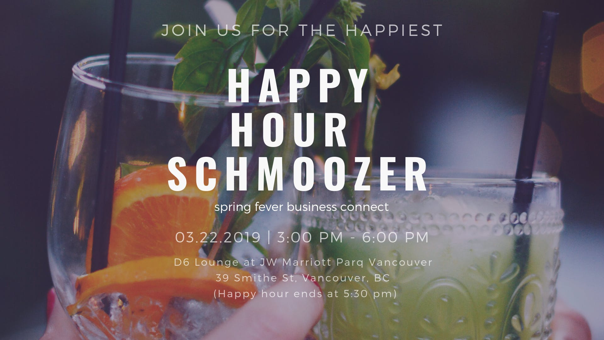 March Business Professionals Happy Hour Schmo