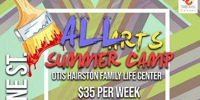 TAB Arts Center Non Profit 3rd Annual ALL Arts Summer Camp