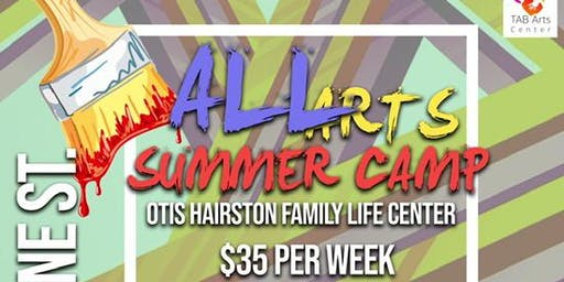 TAB Arts Center Non Profit 3rd Annual ALL Arts Summer Camp