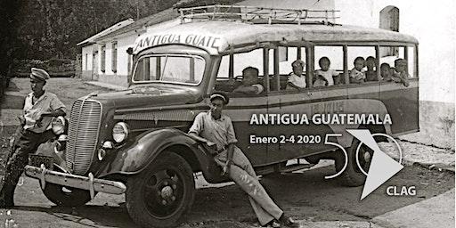 Conference of Latin American Geographers 2020, Antigua Guatemala