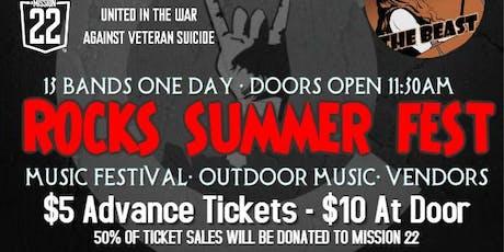 ROCKS Summer FEST tickets