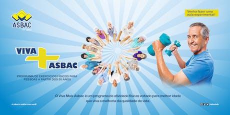 Programa Viva Mais Asbac - 2º Semestre 2019 ingressos