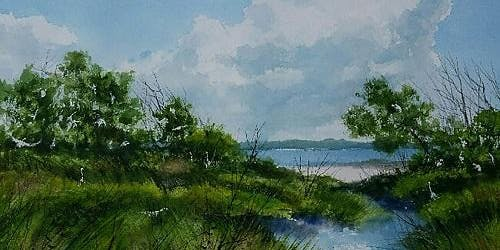 1 FULL Day: Lowcountry Landscapes in Watercolor (June) w/ Thomas Hanlon