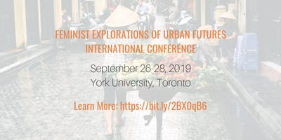GenUrb's Feminist Explorations of Urban Futures International Conference