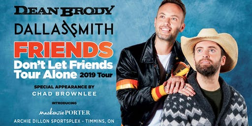 Friends Don't Let Friends Tour Alone 2019