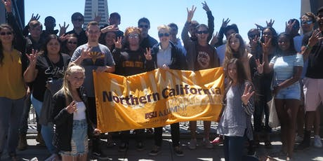 San Francisco, CA: ASU Sun Devil Send-Off billets