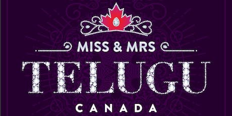 Miss & Mrs Telugu Canada tickets