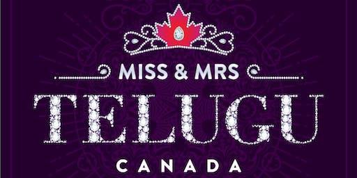 Miss & Mrs Telugu Canada