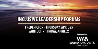 Inclusive Leadership Forum Fredericton