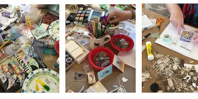 MIXED MEDIA PLAY DAY: Create a Masterboard