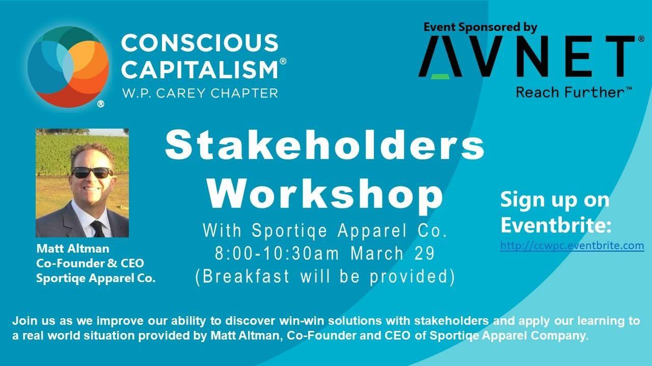 CCWPC Workshop: Stakeholder Orientation with Sportiqe Apparel