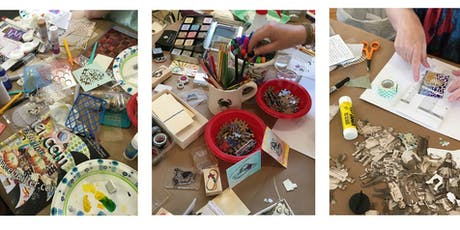 MIXED MEDIA PLAY DAY: Altered Book Round Robin tickets