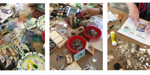 MIXED MEDIA PLAY DAY: Altered Book Round Robin