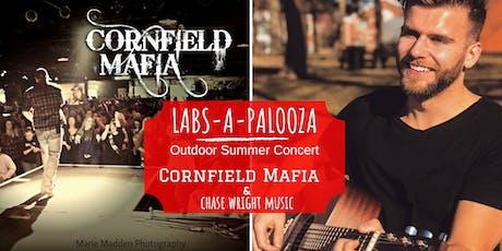 Labs-A-Palooza, featuring Cornfield Mafia & Chase Wright Music tickets