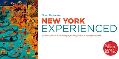 Open House | New York Experienced at the Self-Taught Genius Gallery