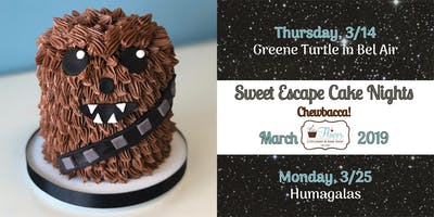 Sweet Escape Cake Night - Monday March 25th 2019