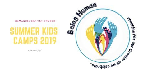 Being Human: Summer Kids Camp tickets
