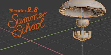 Blender 3D Summer School & Blender Day 2019 Tickets