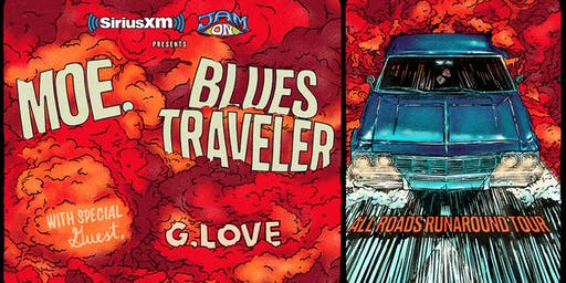 SiriusXM JamON Presents: moe. and Blues Traveler with special guest G. Love