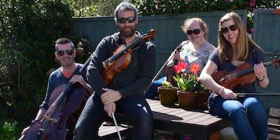 The Liverpool String Quartet in Wrexham