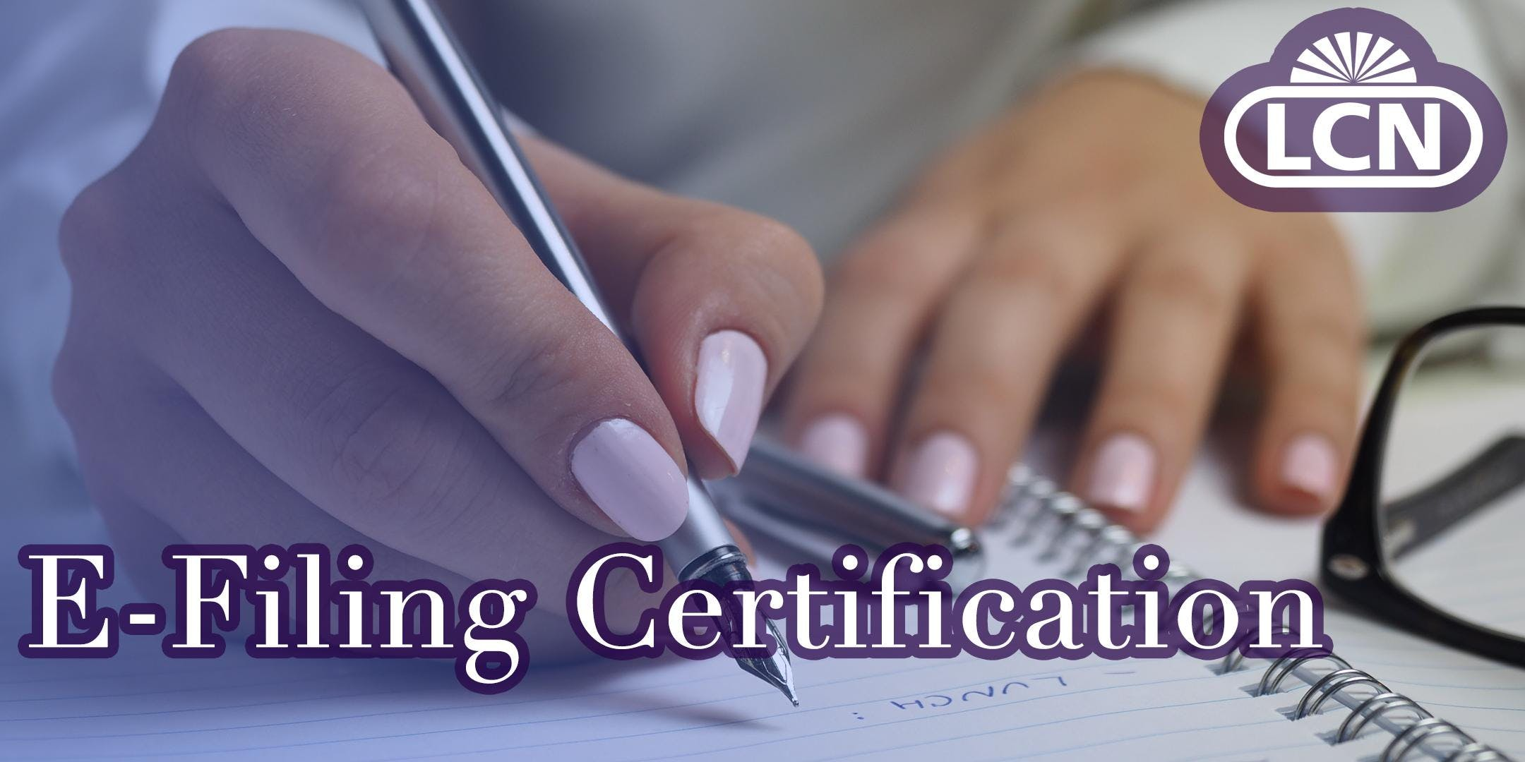 E-Filing Certification - Phoenix, AZ