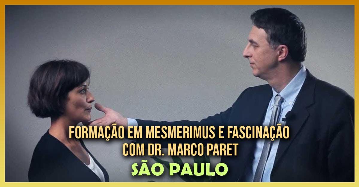 Formao em Mesmerismus e Fascinao Hipntica com Dr. Marco Paret em Ibina (So Paulo)