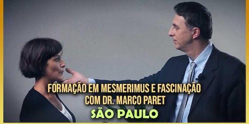 Formação em Mesmerismus e Fascinação Hipnótica com Dr. Marco Paret em Ibiúna (São Paulo)