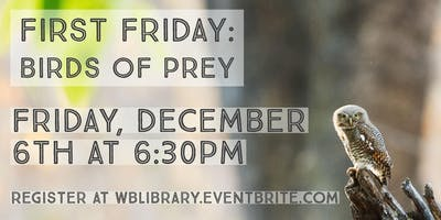 First Friday: Birds of Prey