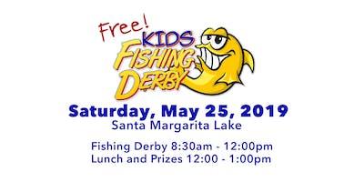 Free Fishing Derby at Santa Margarita Lake