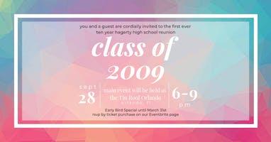 "Hagerty High School Class of ""09"" Ten Year Reunion"