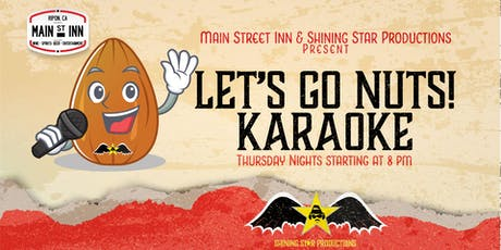 Let's Go Nuts! Karaoke tickets