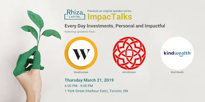 ImpacTalks: Everyday Investments, Personal and Impactful