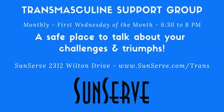 Transmasculine Support Group - Monthly tickets