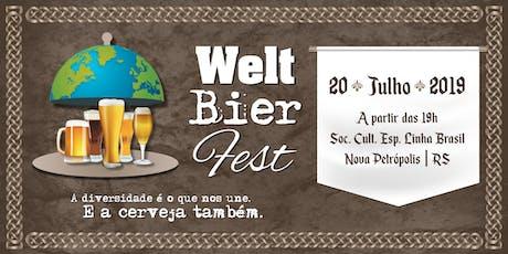 Welt Bier Fest 2019 ingressos