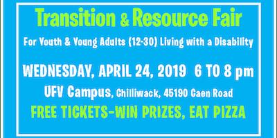 Transition & Resource Fair 2019 in Chilliwack