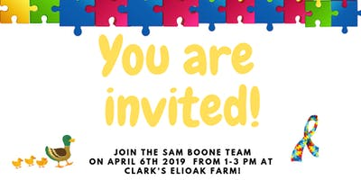 Autism Awareness Family Event