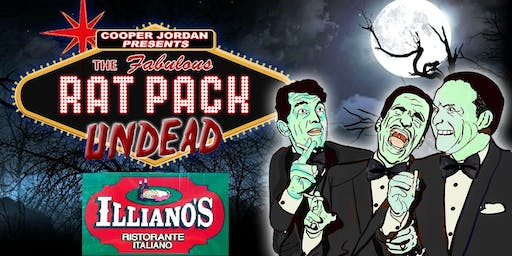 THE RAT PACK UNDEAD - Direct from NYC comes to Hammonton ONE NIGHT ONLY