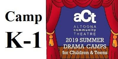 ACT Summer Drama Camp: K-1 with Gina Volpe (Grades K,1,2)
