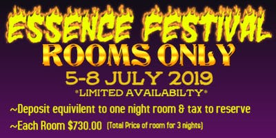 HIGHER HEIGHTS TRAVEL/ESSENCE FEST 2019 ******HOTEL ONLY********