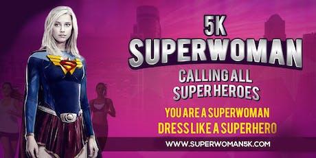 SUPERWOMAN 5K® - VIP REGISTRATION boletos