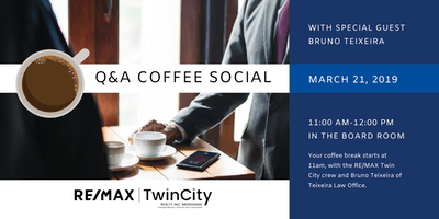 Q&A Coffee Social with Bruno Teixeira, Teixeira Law Office