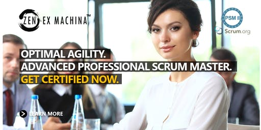 Advanced Scrum Master Class (PSM II) - Canberra